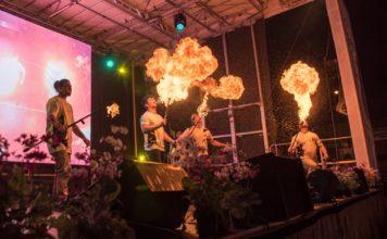 DareDevil fire show